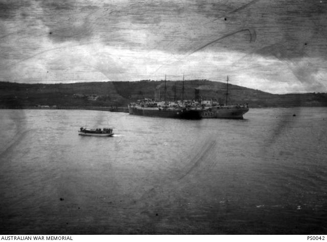 The departure of Australians