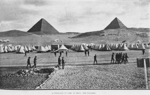 ANZAC's deisembark in Egypt