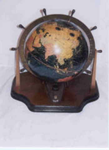 Mounted in a Globe