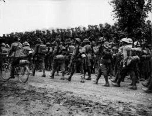 The ending of the Somme Campaign