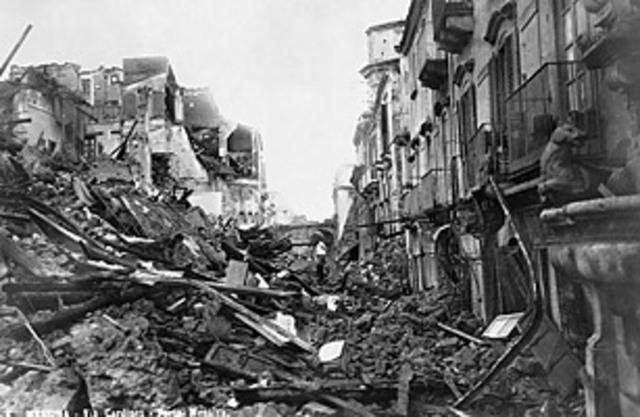 Messina Earthquake and Tsunami
