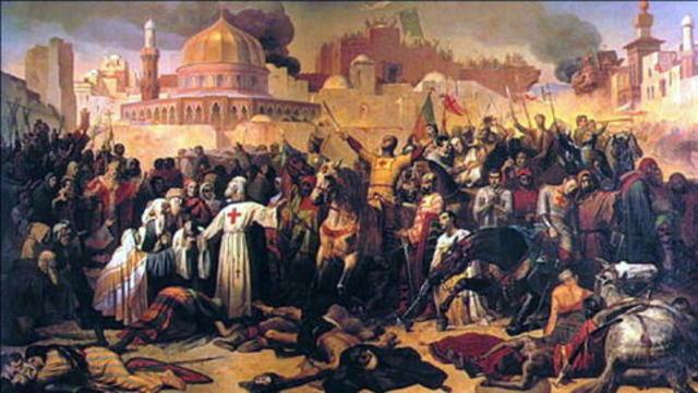 Crusader Seize Jerusalem