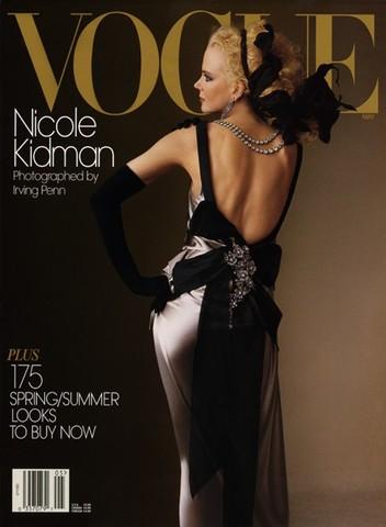 Nicole Kidman Photographed by Irving Penn