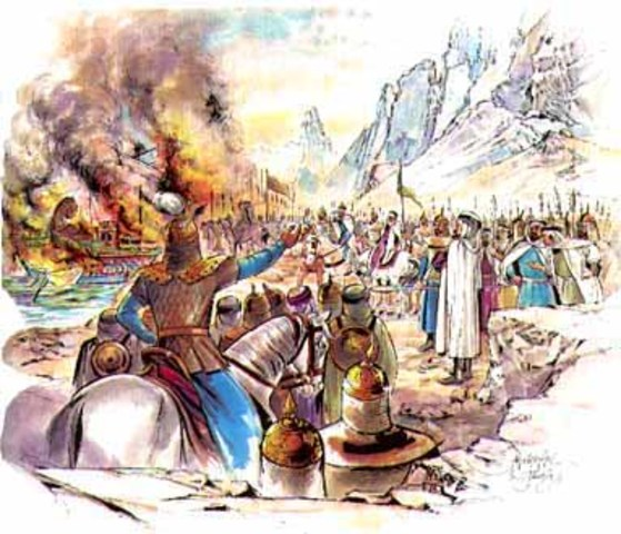 711-718 Conquest of Spain