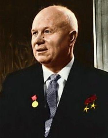 Stalin dør - Nikita Khrusjtsjov tar over makten