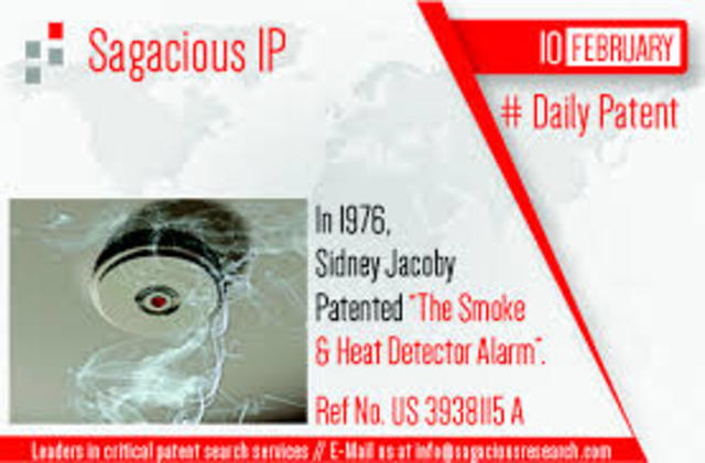 Combination smoke and heat detector alarm
