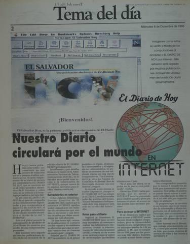 EDH, primer medio en Internet