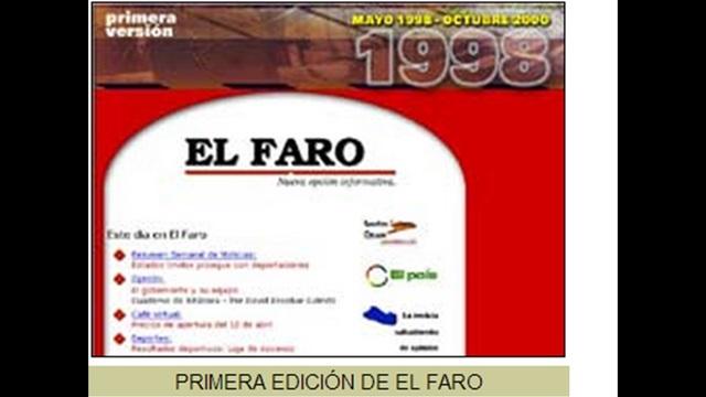 "Nace ""El Faro"""