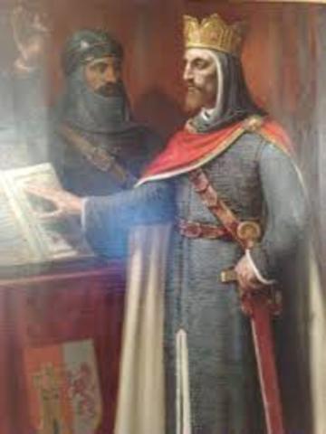Conquita de Toledo por Alfonso VI