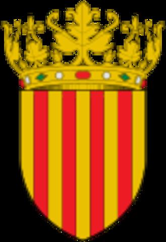 Nacimiento de la Corona de Aragón.