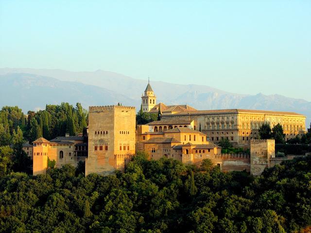 La Alahambra.