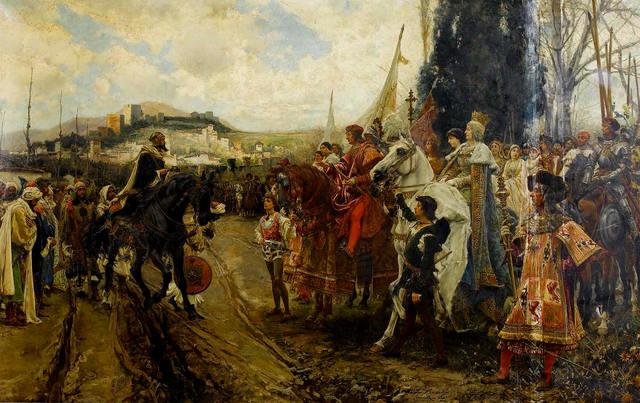 Expulsión de los judíos, conquista de Granada y descubrimiento de América