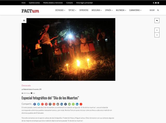 """Nace """"Revista Factum"""""""