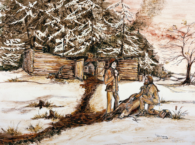 New Years at Fort Clatsop
