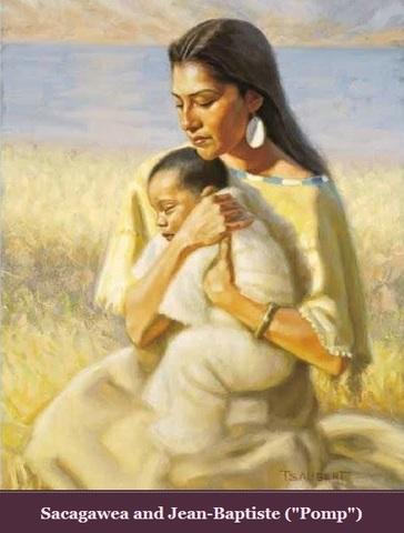 Sacagawea has a baby!