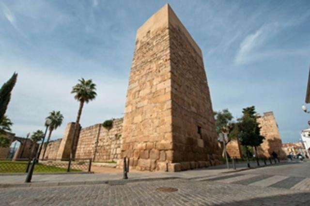 Construcción de la Alcazaba de Mérida