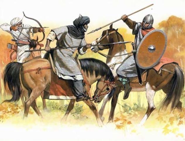La llegada de los musulmanes a Badajoz