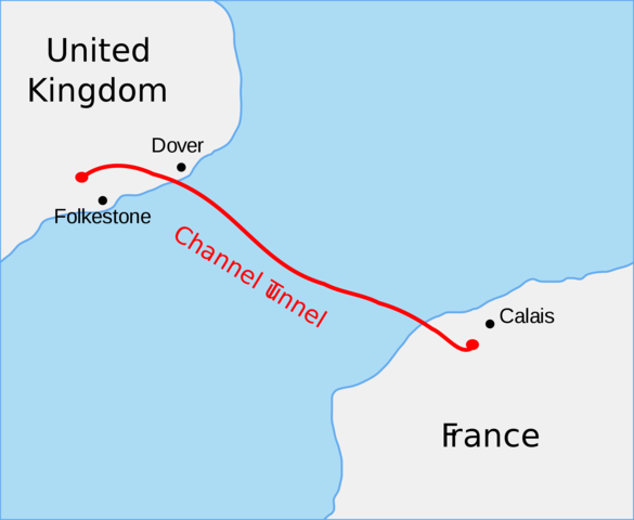 Radio Link between England and France