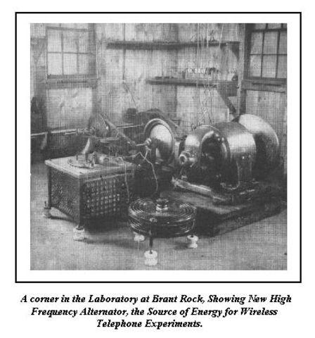 High Frequency eletric generator