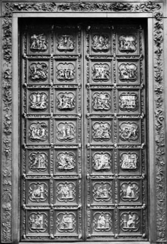 Ghiberti Wins the Right to Sculpt the Northern Doors of The Baptistry