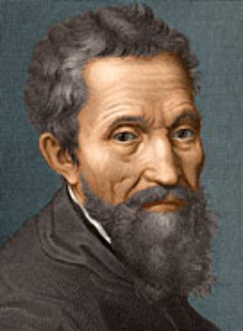 Michelangelo was born
