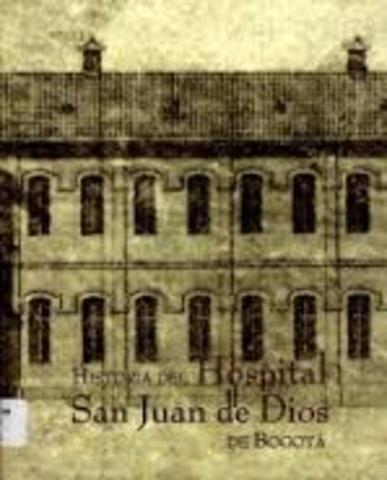 Orfanato de san Juan de Dios se Convierte en el Hospital San Juan de Dios