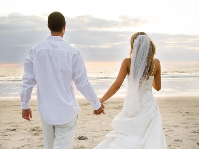 I get married