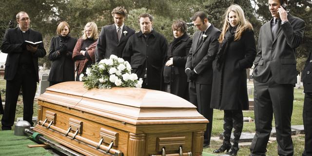 My husband dies