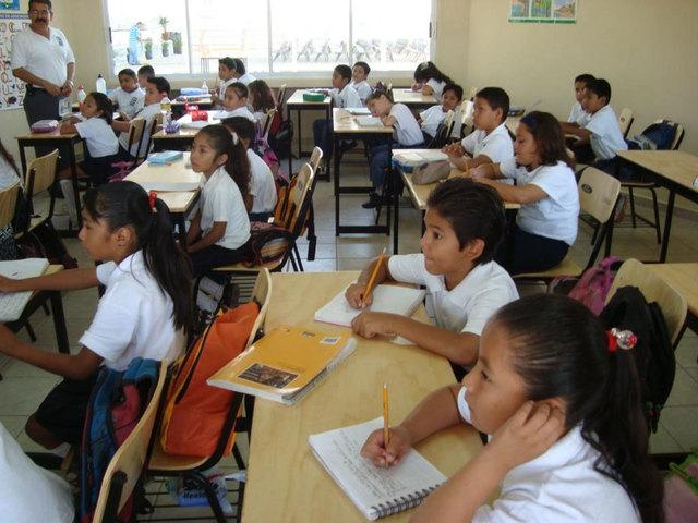 Inicio de estudios en primaria
