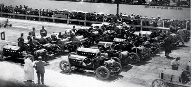 Первые международные гонки