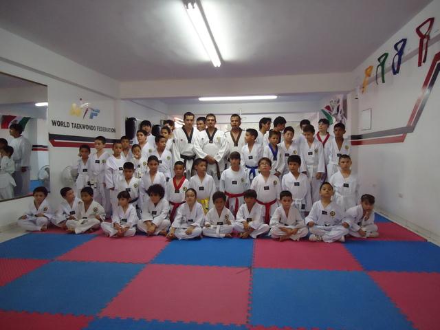 Entrenamiento de taekwondo