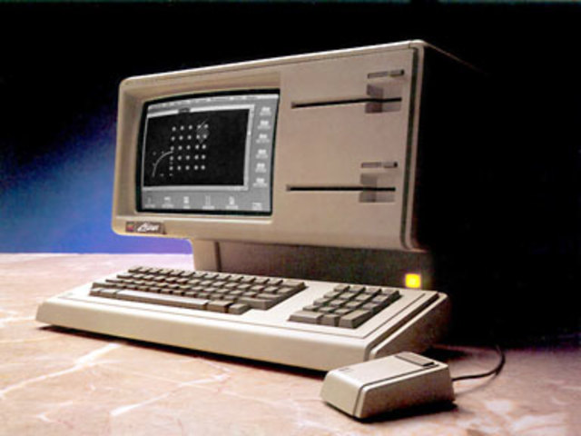 The first personal computer with a GUI