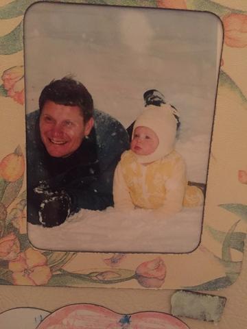 My dad dies