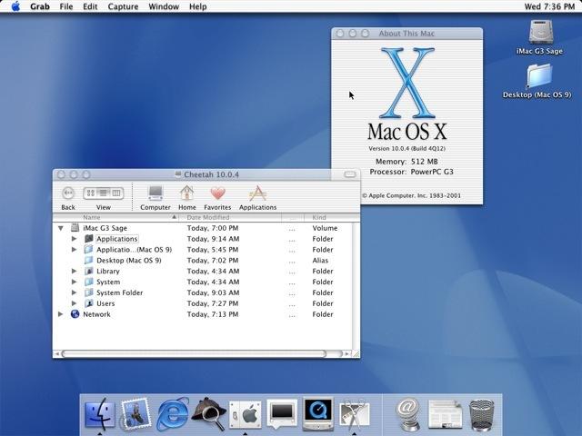 The Mac OS X