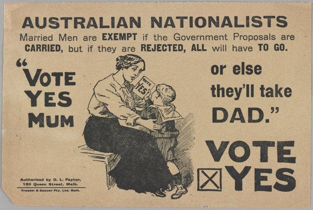 First conscription referendum