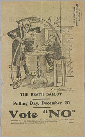 Second conscription referendum