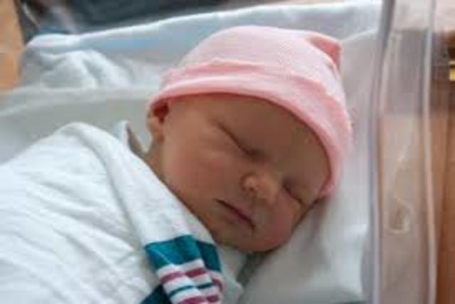 First child born