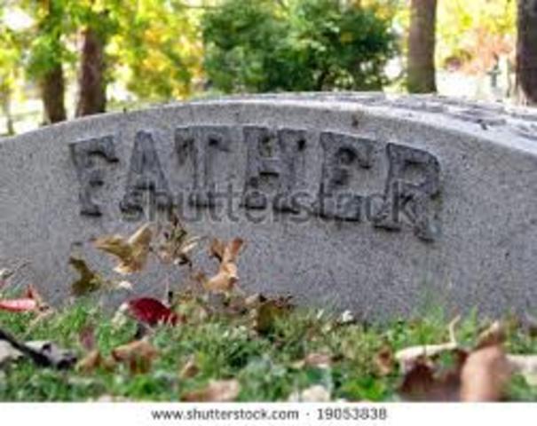 Dad dies