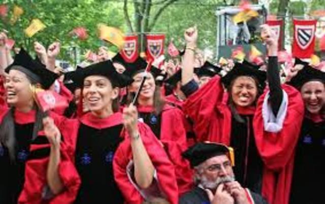 Daughter graduates college