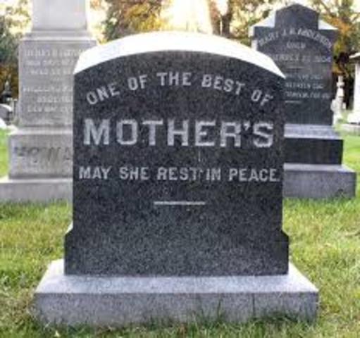 Mom dies