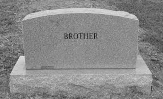 Brother dies