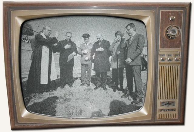 La televisión en blanco y negro