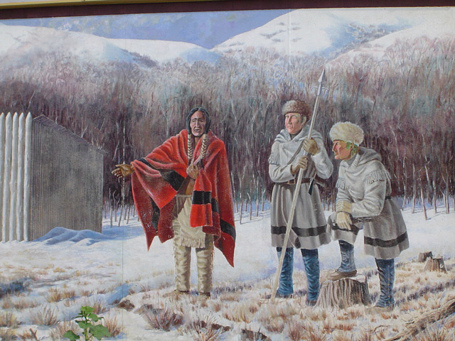 The Stay at Fort Mandan