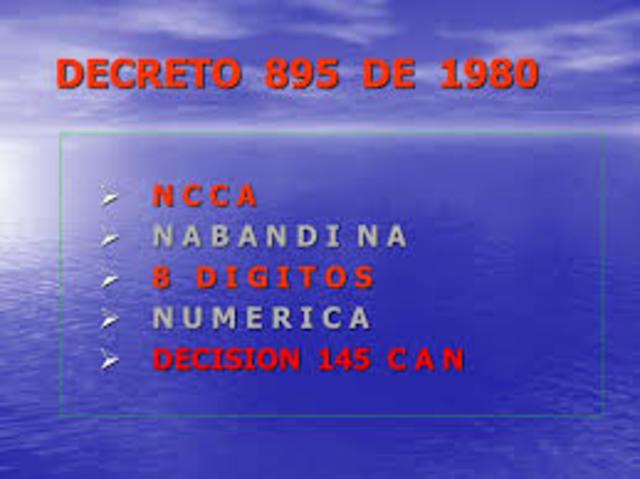Decreto 895: Nuevo arancel de aduanas en Colombia