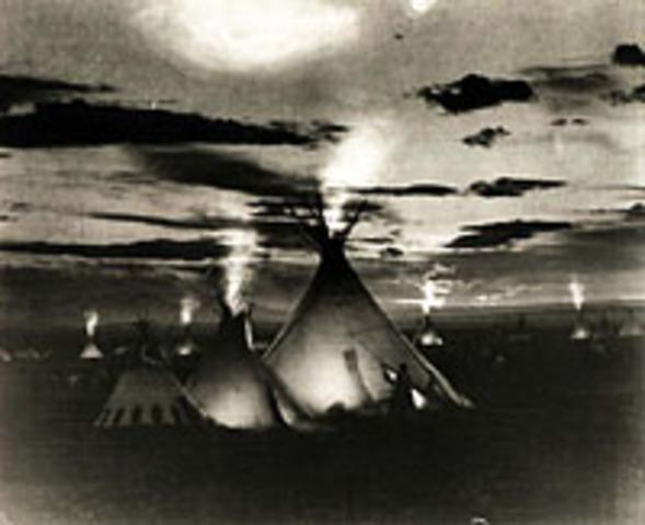 Lewis and Reuben Field Kill Blackfeet Warriors