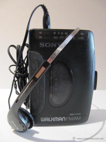 El Walkman.