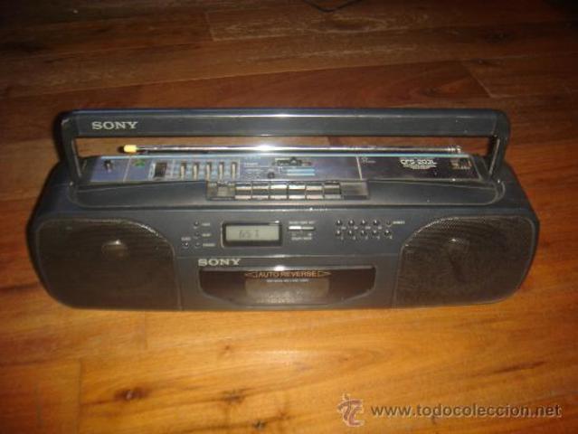 Mi propio radiocassette