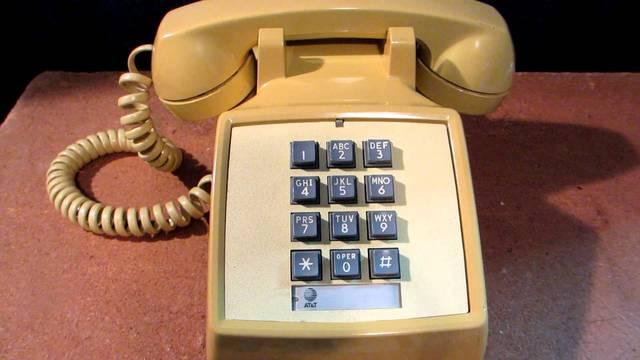 Touch Tone Telephones