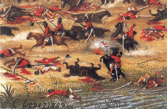 guerra de la triple alianza que enfrento a uruguay ,brasil y argentina contra paraguay