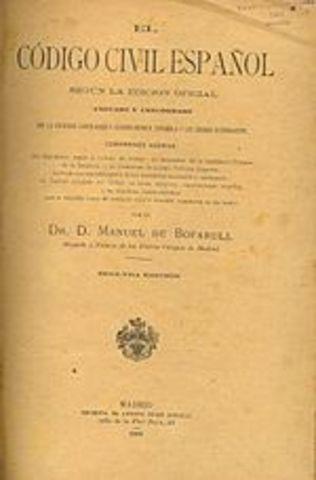 Codificación Civil Española